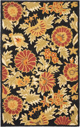 Safavieh Blossom Blm912a Black / Multi Area Rug