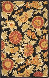 Safavieh Blossom Blm912a Black / Multi Area Rug