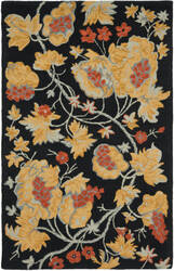 Safavieh Blossom Blm918a Black / Multi Area Rug