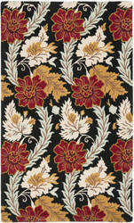 Safavieh Blossom Blm921a Black / Multi Area Rug