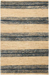 Safavieh Bohemian Boh227a Natural / Blue Area Rug