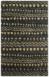 Safavieh Bohemian Boh653a Black - Gold Area Rug