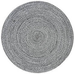 Safavieh Braided Brd256c Ivory - Black Area Rug