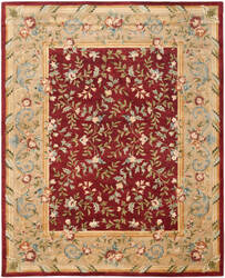 Safavieh Bergama BRG164A Red / Dark Beig Area Rug