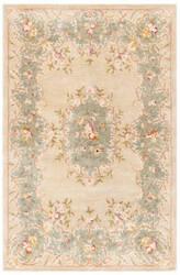 Rugstudio Sample Sale 46319R Ivory / Light Blue Area Rug