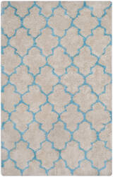Safavieh Barcelona Shag Bsg319k Cream / Blue Area Rug