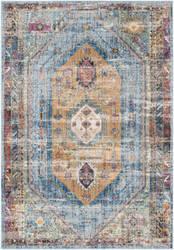 Safavieh Bristol Btl346c Blue - Camel Area Rug