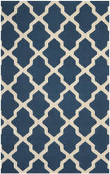 Safavieh Cambridge CAM121G Navy Blue / Ivory Area Rug