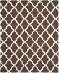 Safavieh Cambridge CAM121H Dark Brown / Ivory Area Rug
