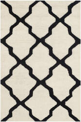 Safavieh Cambridge Cam121w Ivory - Black Area Rug