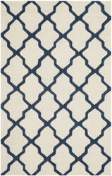Safavieh Cambridge Cam121z Ivory / Navy Area Rug