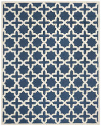 Safavieh Cambridge Cam125g Navy Blue / Ivory Area Rug