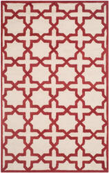 Safavieh Cambridge Cam125i Ivory - Rust Area Rug