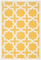 Safavieh Cambridge Cam125q Gold / Ivory Area Rug