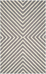Safavieh Cambridge Cam129x Dark Grey - Ivory Area Rug