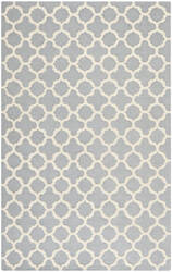 Safavieh Cambridge Cam130d Silver / Ivory Area Rug