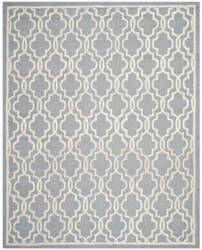 Safavieh Cambridge Cam131d Silver / Ivory Area Rug