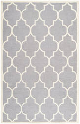 Safavieh Cambridge Cam134d Silver / Ivory Area Rug