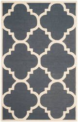 Safavieh Cambridge Cam140x Dark Grey - Ivory Area Rug