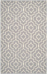 Safavieh Cambridge Cam141d Silver / Ivory Area Rug