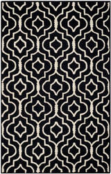 Safavieh Cambridge Cam141e Black - Ivory Area Rug