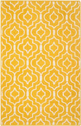 Safavieh Cambridge Cam141q Gold - Ivory Area Rug