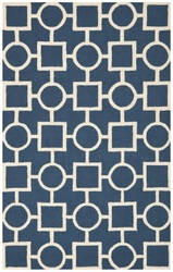 Safavieh Cambridge CAM143G Navy Blue / Ivory Area Rug