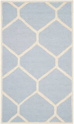 Safavieh Cambridge CAM144A Light Blue / Ivory Area Rug