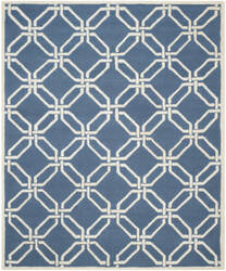 Safavieh Cambridge Cam311m Navy / Ivory Area Rug