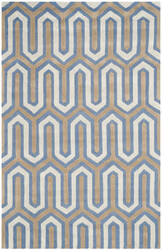 Safavieh Cambridge Cam351m Navy / Grey Area Rug