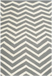Safavieh Cambridge Cam714d Dark Grey / Ivory Area Rug