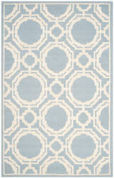 Safavieh Cambridge Cam721b Blue - Ivory Area Rug