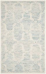 Safavieh Cambridge Cam728b Light Blue - Ivory Area Rug