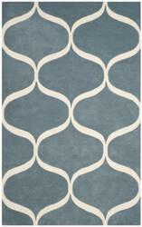 Safavieh Cambridge Cam730b Light Blue - Ivory Area Rug