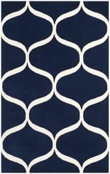 Safavieh Cambridge Cam730m Dark Blue - Ivory Area Rug