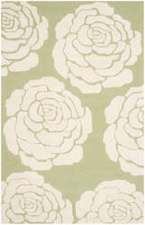 Safavieh Cambridge Cam782n Lime - Ivory Area Rug