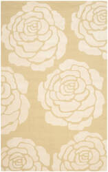 Safavieh Cambridge Cam782q Light Gold - Ivory Area Rug