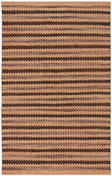 Safavieh Cape Cod Cap104c Orange - Black Area Rug