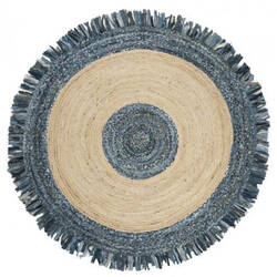 Safavieh Cape Cod Cap205d Ivory - Denim Area Rug