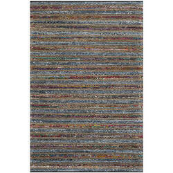 Safavieh Cape Cod Cap361a Blue / Multi Area Rug