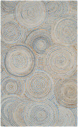 Safavieh Cape Cod Cap602a Natural - Blue Area Rug