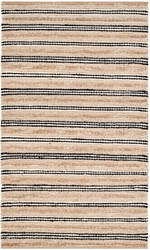 Safavieh Cape Cod Cap862a Natural - Black Area Rug