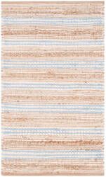 Safavieh Cape Cod Cap862m Natural - Light Blue Area Rug