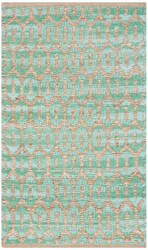 Safavieh Cape Cod Cap864d Natural - Teal Area Rug