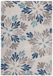 Safavieh Cabana Cbn800f Grey - Blue Area Rug