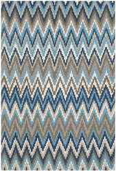 Rugstudio Sample Sale 107921R Teal / Blue Area Rug