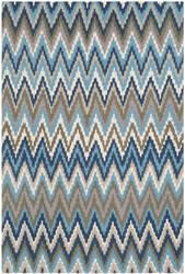 Safavieh Cedar Brook Cdr145c Teal / Blue Area Rug