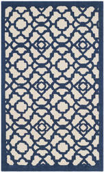Safavieh Cedar Brook Cdr221f Ivory - Navy Area Rug