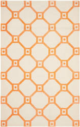 Safavieh Cedar Brook Cdr269n Ivory - Orange Area Rug
