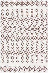 Safavieh Cedar Brook Cdr501d Ivory - Rust Area Rug